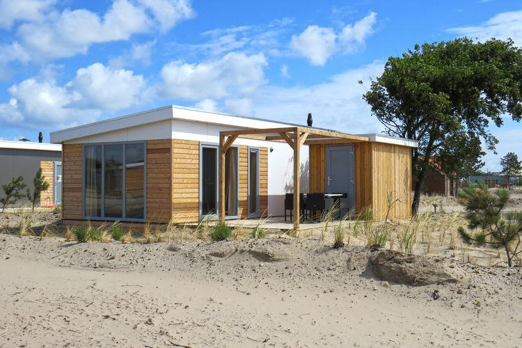 Vakantiehuizen Nederland | Wadden | Bungalow te huur in Hollum met zwembad  met wifi 6 personen