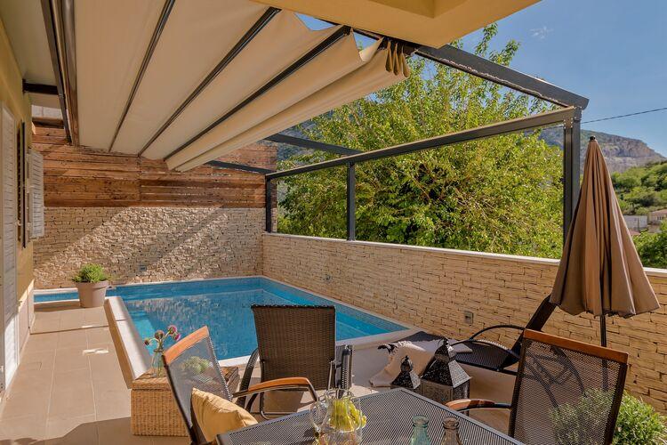 Villa Kroatië, Dalmatie, Zrnovnica Villa HR-00017-91