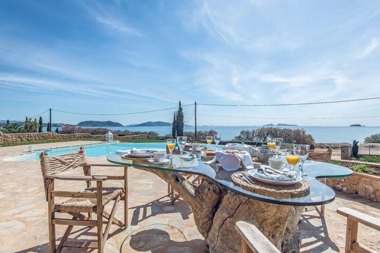 Griekenland | Peloponnesos | Villa te huur in Porto-Heli met zwembad  met wifi 10 personen
