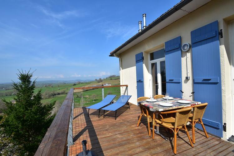 Vakantiehuis met zwembad met wifi  CuzyApt  Piscine 4 pers