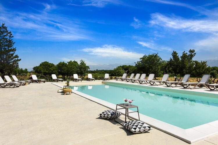 Villa Kroatië, Dalmatie, Nin Villa HR-23232-34
