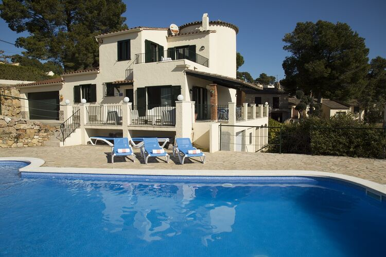 Vakantiehuizen Spanje | Costa-Brava | Vakantiehuis te huur in LEstartit met zwembad  met wifi 6 personen