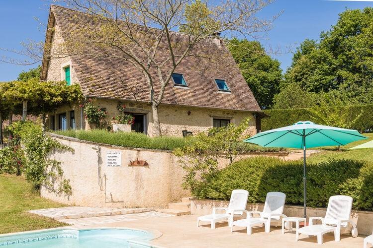 Vakantiehuis met zwembad met wifi  DordogneLe Tournant