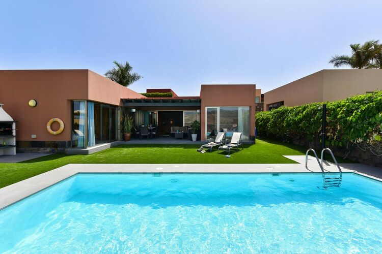 Villas Spanje | Grca | Villa te huur in San-Bartolome-de-Tirajana-Maspalomas met zwembad  met wifi 4 personen