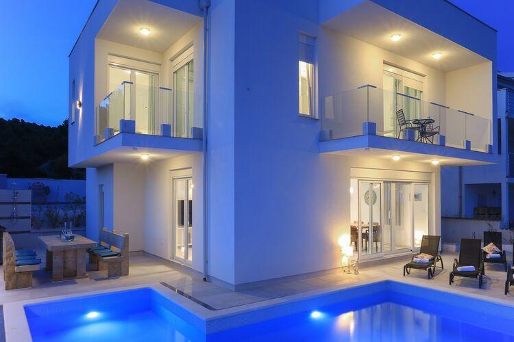 Villa Kroatië, Dalmatie, Rogoznica Villa HR-00018-19
