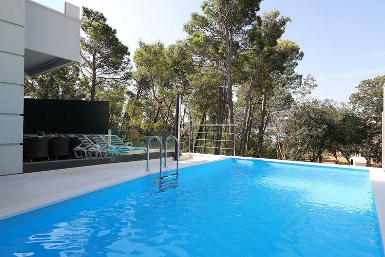 Vakantiehuizen Kroatie | Dalmatie | Appartement te huur in Seline met zwembad  met wifi 6 personen