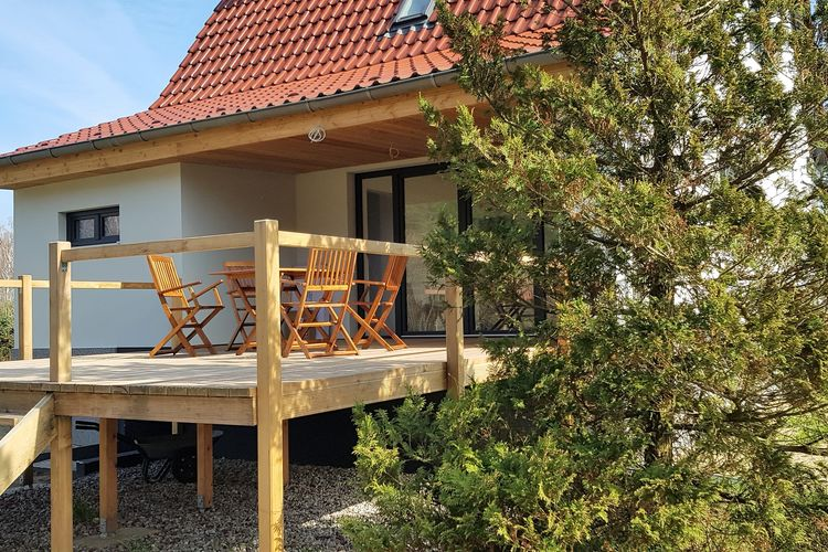 Vakantiehuis  met wifi  Großzerlang  Exclusives Ferienhaus mit optionalem Bootssteg