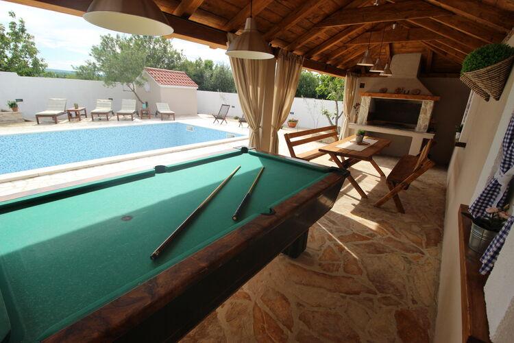 Villa Kroatië, Dalmatie, Pridraga Villa HR-00018-40