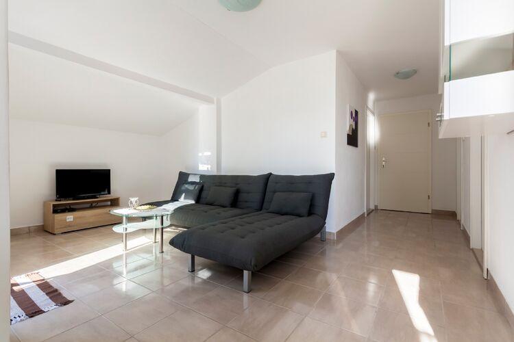 Appartement Kroatië, eld, Malinska Appartement HR-00018-50