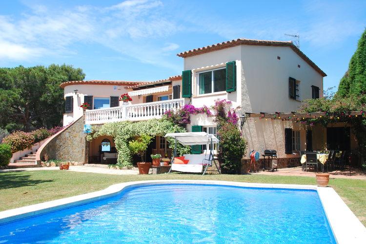 Villa met zwembad met wifi  Costa BravaVilla Belle