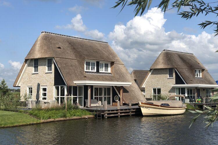 Vakantiehuizen Nederland | Friesland | Villa te huur in Delfstrahuizen   met wifi 10 personen