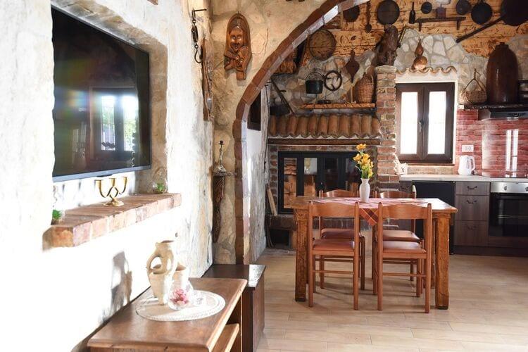 vakantiehuis Kroatië, Dalmatie, Zemunik Donji vakantiehuis HR-23222-07
