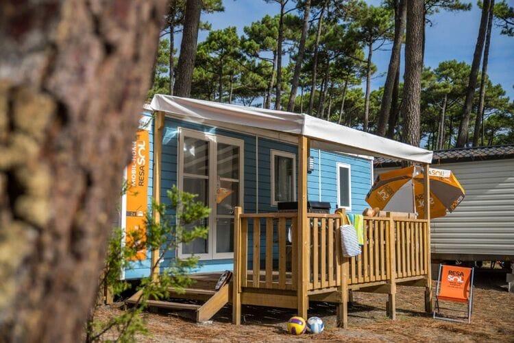 Vakantiehuizen Frankrijk | Cote-Atlantique | Sta caravan te huur in Messanges met zwembad  met wifi 6 personen