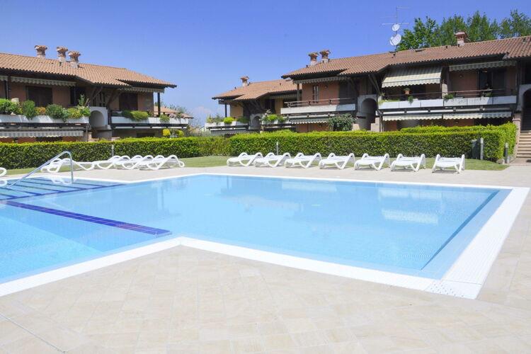 Vakantiehuizen Italie   Italiaanse-Meren   Vakantiehuis te huur in Lazise met zwembad  met wifi 4 personen