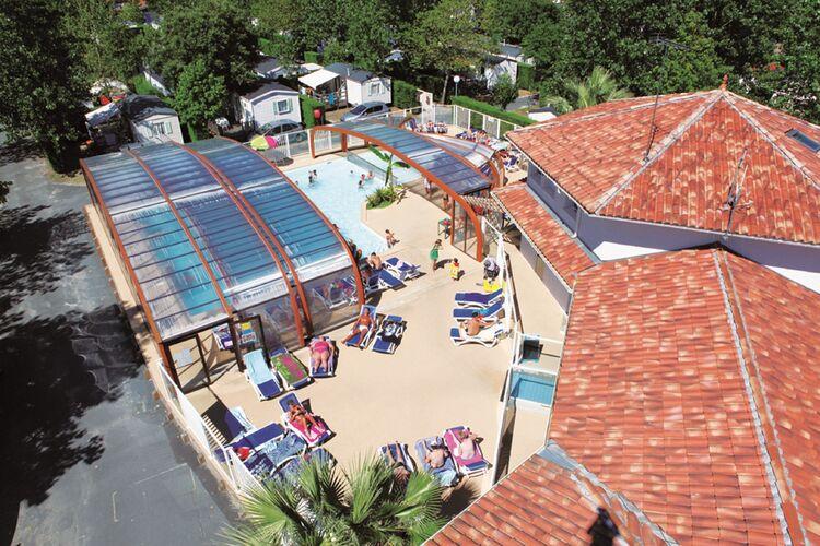 Vakantiehuizen Frankrijk | Cote-Atlantique | Sta caravan te huur in Messanges met zwembad  met wifi 8 personen