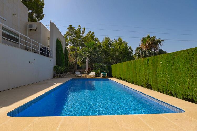 Villas Spanje | Costa-Blanca | Villa te huur in Altea met zwembad  met wifi 8 personen
