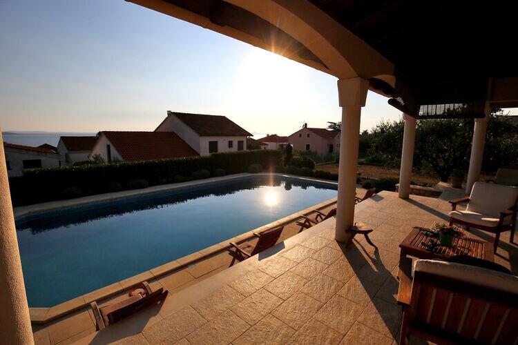 Villa Kroatië, Dalmatie, Kozino Villa HR-23231-25
