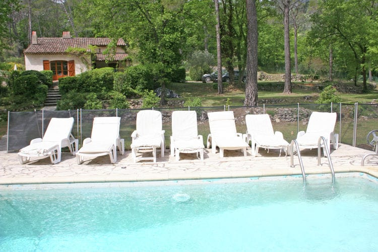 Villa met zwembad met wifi  SeillansVilla Malevil