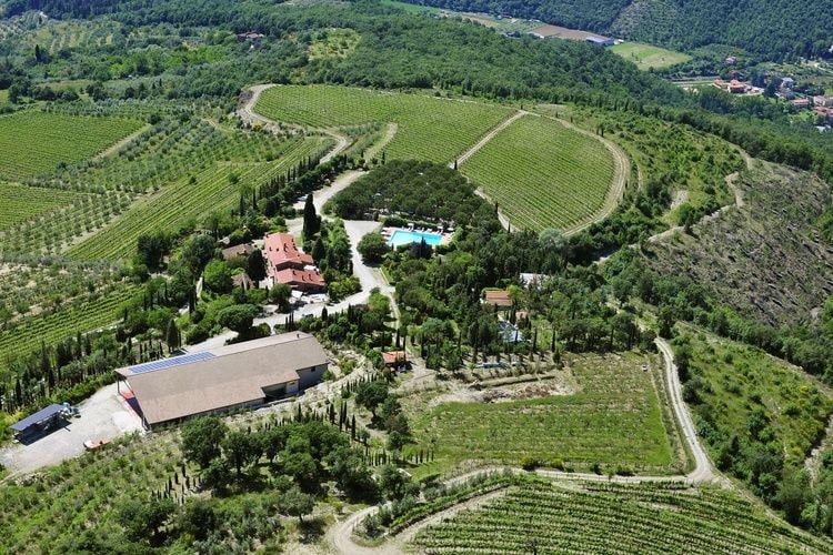 Boerderij Italië, Toscana, Arezzo Boerderij IT-52100-90