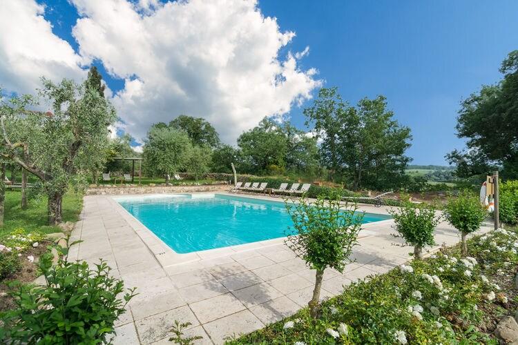 Boerderij met zwembad met wifi  Rapolano-TermeCorbezzolo