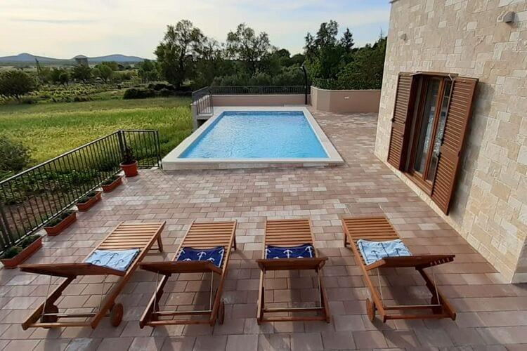 Villa Kroatië, Dalmatie, Stankovci Villa HR-00019-13