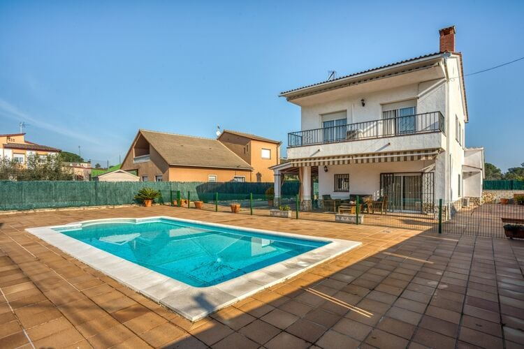 Villas Spanje | Costa-de-Barcelona | Villa te huur in Fogars-de-la-Selva    8 personen