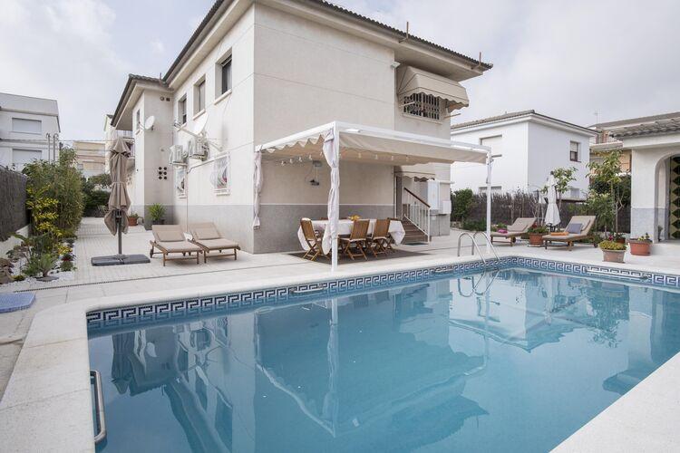 Vakantiehuizen Spanje | Costa-Dorada | Appartement te huur in Segur-de-Calafell met zwembad  met wifi 4 personen