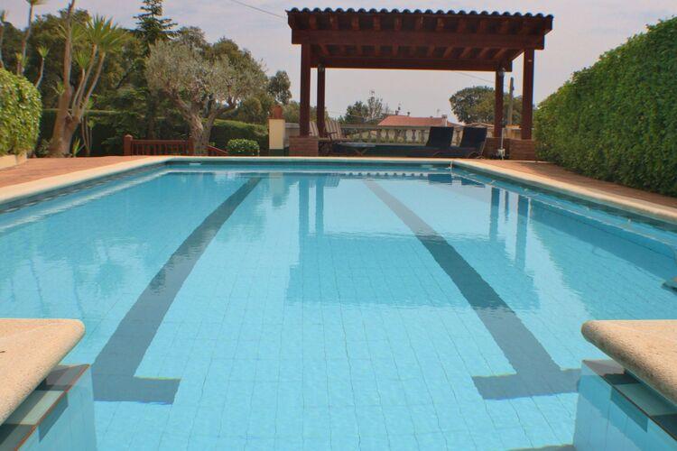 Vakantiehuizen Spanje | Costa-Brava | Villa te huur in Tordera met zwembad  met wifi 6 personen