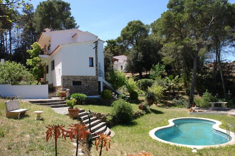 Vakantiehuizen Spanje   Costa-Brava   Vakantiehuis te huur in Begur met zwembad  met wifi 7 personen