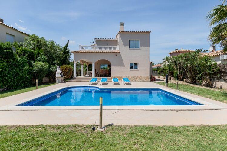 Vakantiehuizen Spanje | Costa-Brava | Villa te huur in Sant-Pere-Pescador met zwembad  met wifi 8 personen