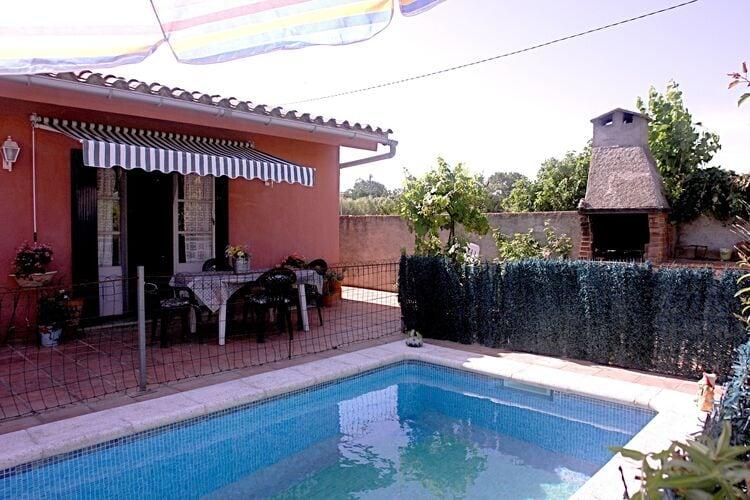 Vakantiehuizen Spanje | Costa-Brava | Vakantiehuis te huur in Sant-Miquel-de-Fluvia met zwembad  met wifi 4 personen