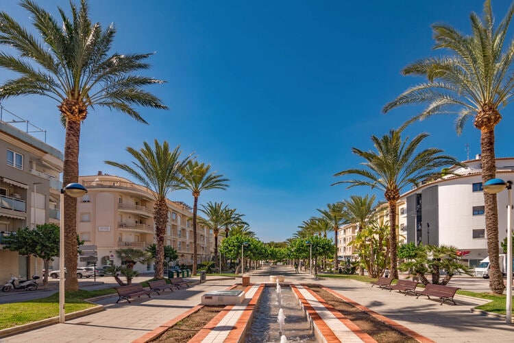 Spanje | Costa-Blanca | Appartement te huur in Moraira   met wifi 4 personen