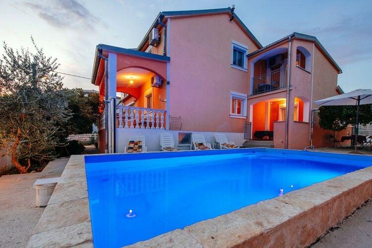 vakantiehuis Kroatië, Dalmatie, Maslenica vakantiehuis HR-00019-22