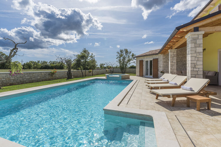 Villa Kroatië, Istrie, Tinjan Villa HR-00019-33