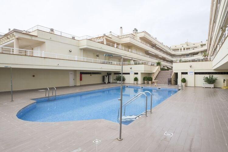 Spanje | Costa-del-Azahar | Appartement te huur in Alcoceber met zwembad  met wifi 4 personen