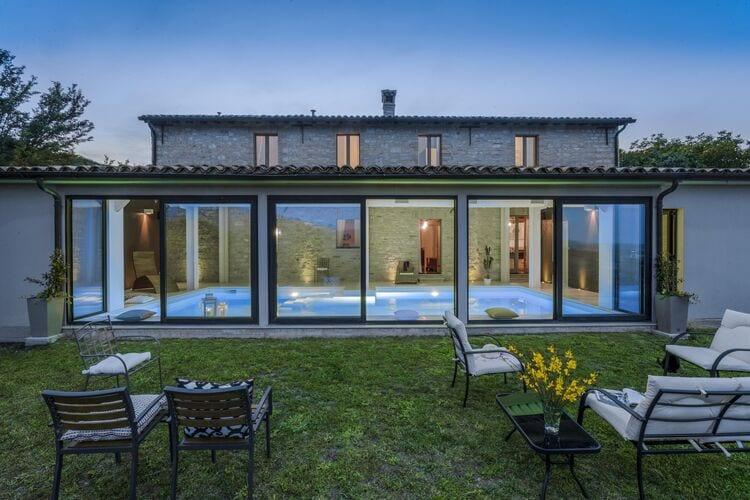 Vakantiehuizen Italie | Marche | Villa te huur in Cagli met zwembad  met wifi 10 personen