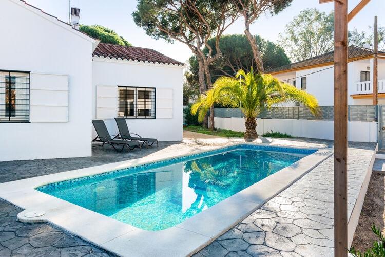 Vakantiehuizen Spanje | Luz | Villa te huur in Isla-Cristina met zwembad  met wifi 6 personen