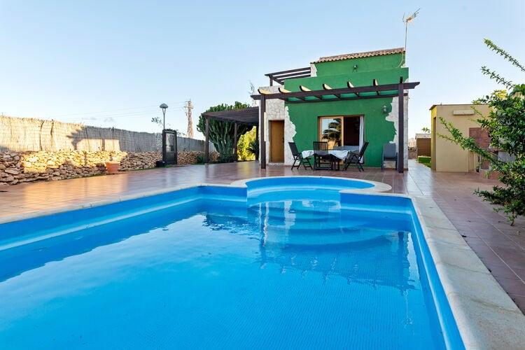Vakantiehuizen Spanje | Fuert | Vakantiehuis te huur in Antigua   met wifi 7 personen