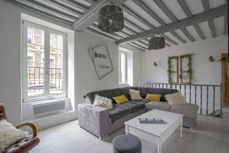 Appartementen Frankrijk | Normandie | Appartement te huur in Bayeux   met wifi 10 personen
