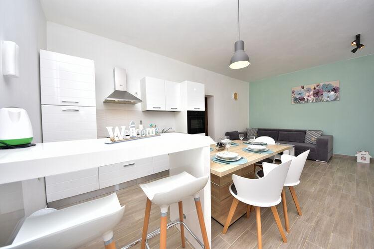 Appartement Kroatië, Dalmatie, Krusevo Appartement HR-23452-01