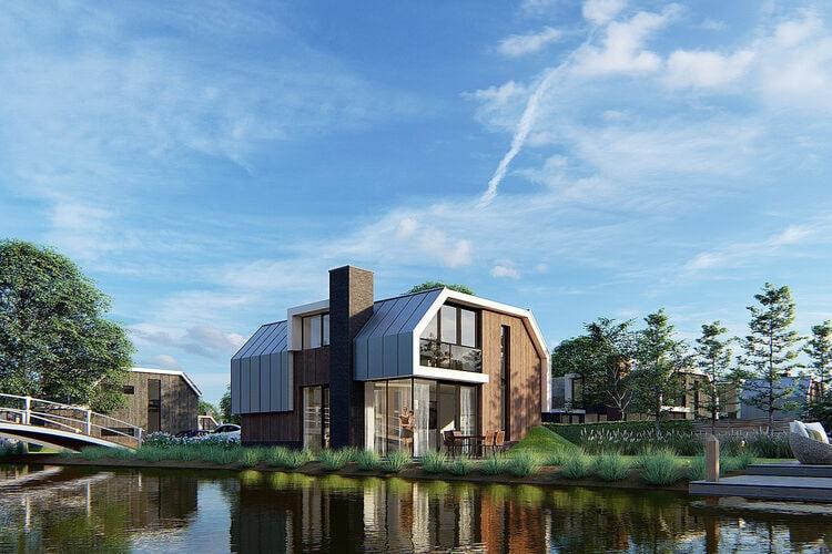 Vakantiehuizen Nederland   Flevoland   Villa te huur in Biddinghuizen met zwembad  met wifi 12 personen