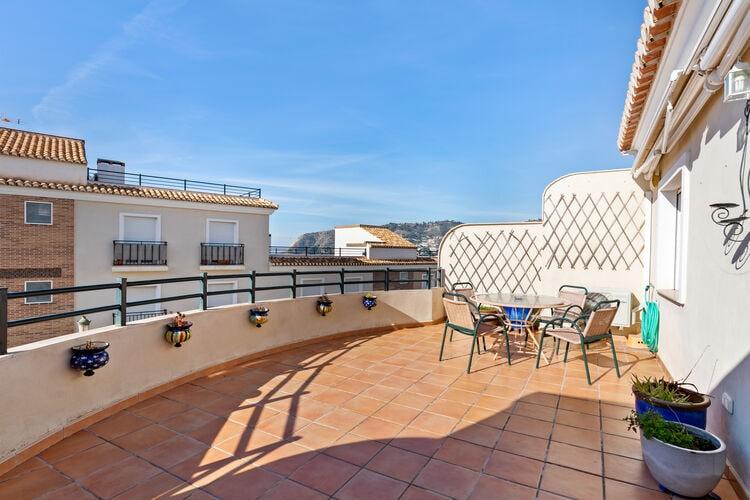 Vakantiehuizen Spanje   Costa-Almeria   Appartement te huur in La-Herradura    4 personen