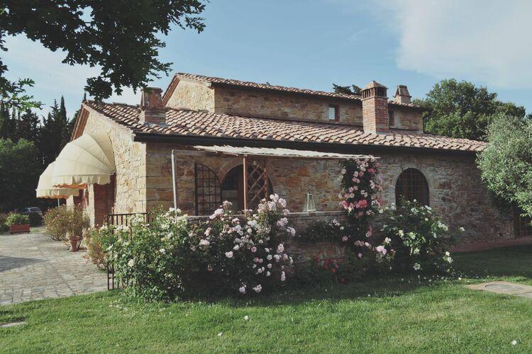Italie | Toscana | Villa te huur in Tavarnelle-Val-di-Pesa met zwembad  met wifi 9 personen