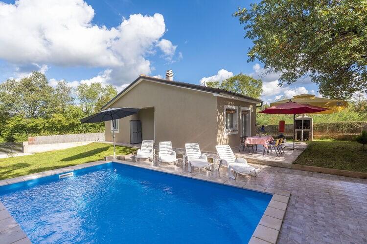 Vakantiehuizen Kroatie | Istrie | Vakantiehuis te huur in Kanfanar met zwembad  met wifi 5 personen