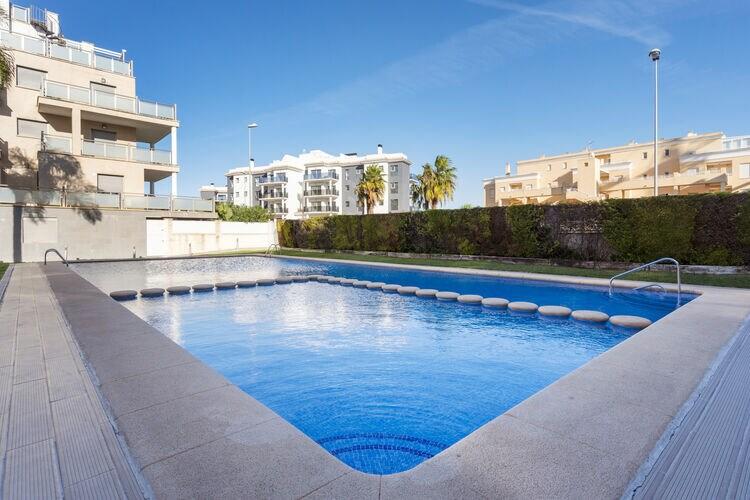 Appartement met Zwembad te huur