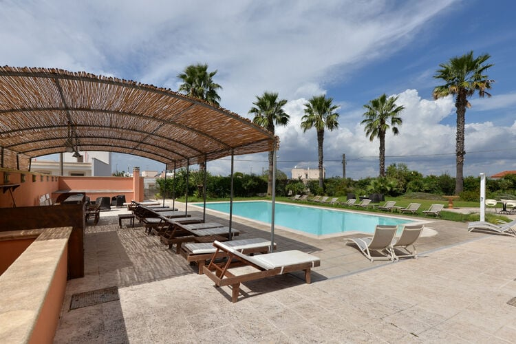Vakantiehuizen Italie | Puglia | Appartement te huur in Gagliano-del-Capo met zwembad  met wifi 4 personen