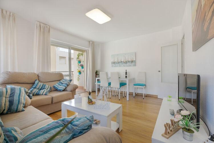 Vakantiehuizen Spanje | Andalucia | Appartement te huur in RINCON-DE-LA-VICTORIA   met wifi 6 personen