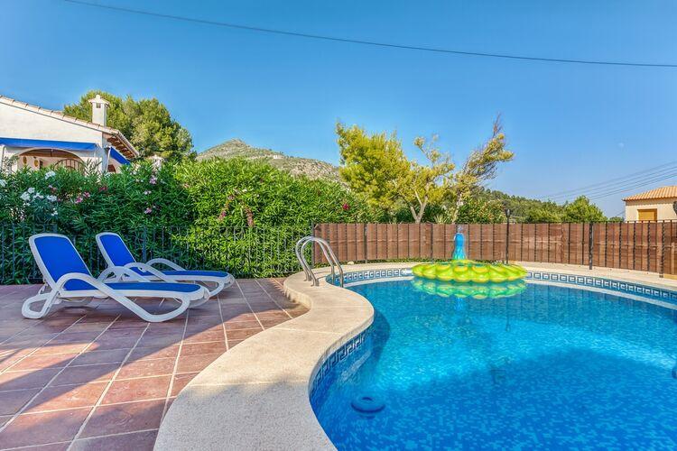 Vakantiehuizen Spanje | Costa-Blanca | Villa te huur in Alcalali met zwembad  met wifi 6 personen