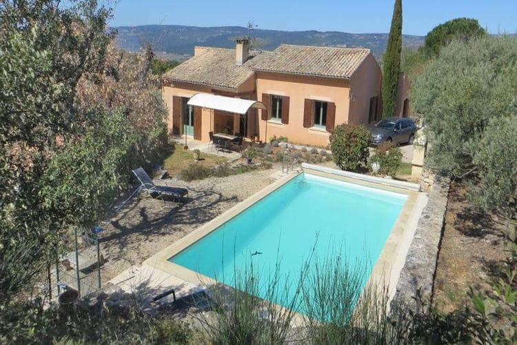 Vakantiehuizen Frankrijk | Provence-alpes-cote-d-azur | Vakantiehuis te huur in Roussillon met zwembad  met wifi 5 personen