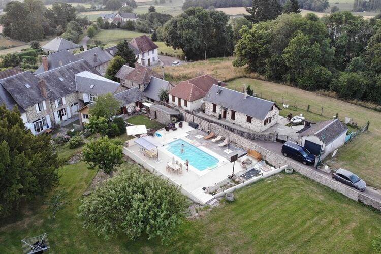 Woning Frankrijk | Limousin | Vakantiehuis te huur in Masseret met zwembad  met wifi 9 personen